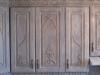 Дверцы навесных шкафов с резными элементами
