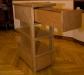 Тумбочка - выдвинутый ящик