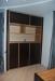 Шкаф из массива зебрано и эбенового дерева