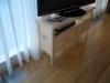 Тумба под телевизор из массива вишни - в интерьере