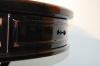 Круглый журнальный стол - торец столешницы с ящичком