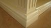 Глянцевый стол - резная ножка под колонну