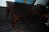Стол из палисандра - вид сбоку